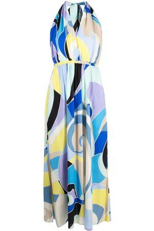 Emilio Pucci Women Printed Dresses - Quirimbas printed halterneck dress