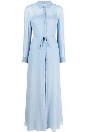 Emilio Pucci Sheer tie-waist dress