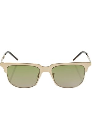 Saint Laurent Women Sunglasses - Ysl Sl 420 Slim Metal Sunglasses