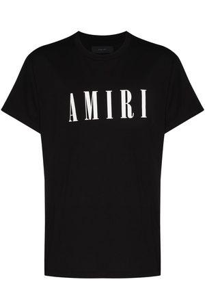 AMIRI Men T-shirts - Logo-print crew-neck T-shirt