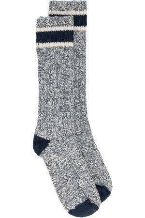 Red Wing Men Socks - Ragg wool crew socks - Grey