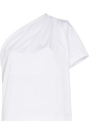 GAUGE81 Ruched one shoulder T-shirt