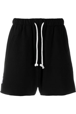 DUOltd Men Sports Shorts - Embroidered-logo track shorts