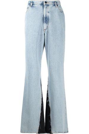 DUOltd Side inserts loose jeans