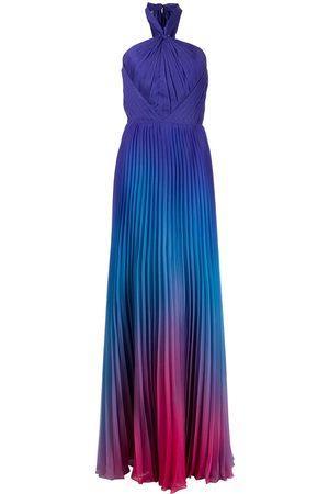 Marchesa Notte Women Evening dresses - Ombre chiffon gown dress - Multicolour