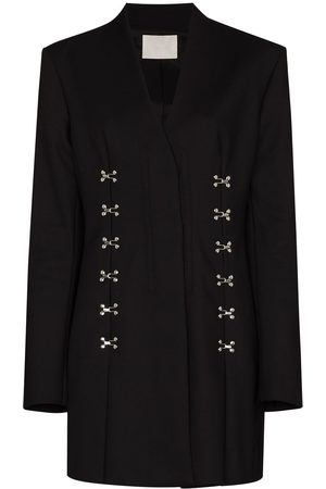 DION LEE Accordion blazer minidress