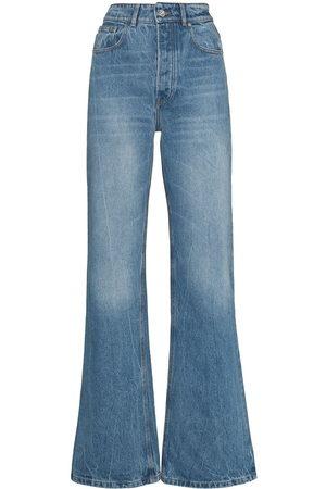 Paco rabanne High-rise wide-leg jeans