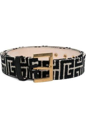 Balmain B-Monogram motif belt