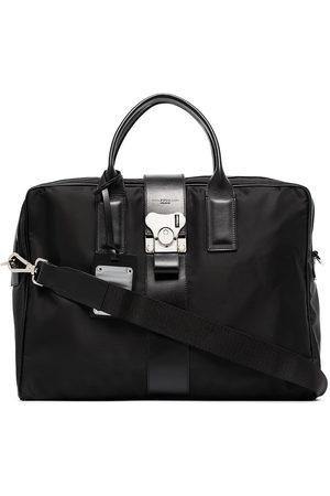 FPM Milano Leather-trim briefcase