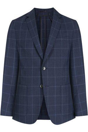 HUGO BOSS Men Blazers - Checked wool blazer
