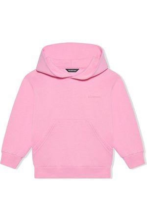Balenciaga Embroidered-logo hoodie