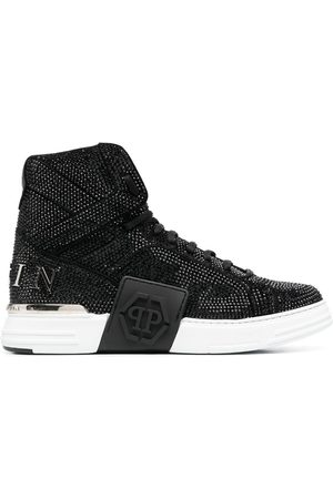 Philipp Plein Money Kicks crystal-embellished sneakers