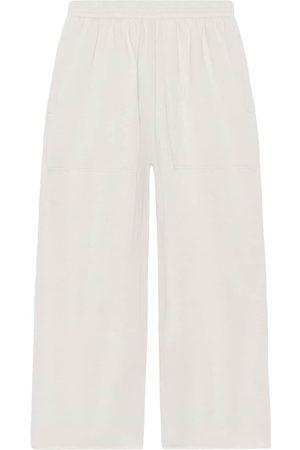 Balenciaga Baggy track pants - Neutrals