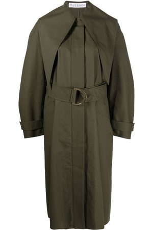 J.W.Anderson D-ring belted trench coat