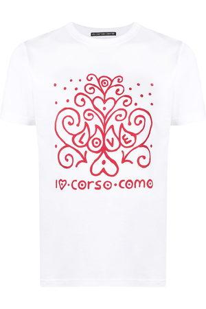 10 CORSO COMO Logo-print short-sleeved T-shirt