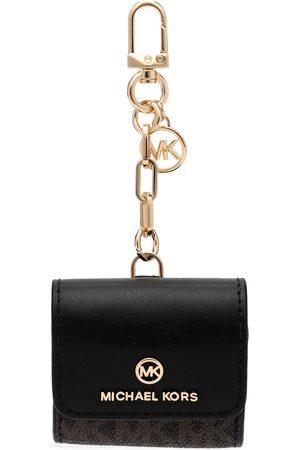 Michael Kors Clip-on monogram wallet