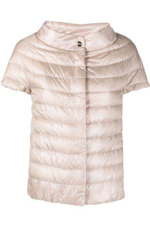 HERNO Short sleeve padded jacket