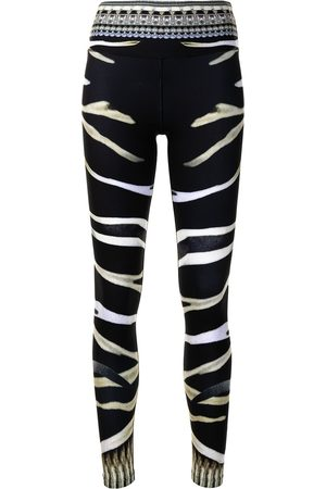 Camilla Zebra-print active leggings
