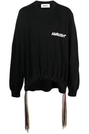 AMBUSH Logo-print drawstring sweatshirt