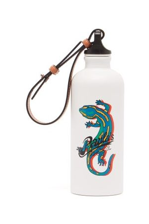 Loewe Paula's Ibiza Women Sports Equipment - X Sigg Salamander-print Metal Water Bottle - Womens