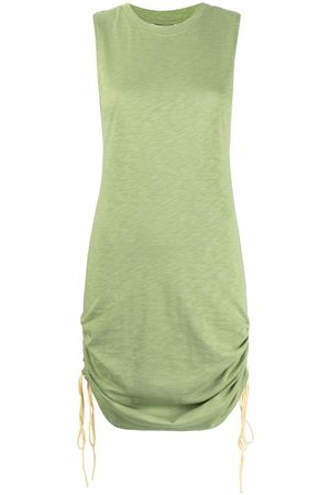 Apparis Betsy ruched organic-cotton dress