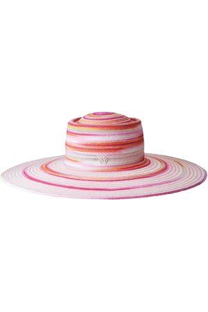 Le Mont St Michel Women Hats - Kat colour-block sun hat