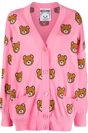 Moschino Teddy bear pattern cardigan