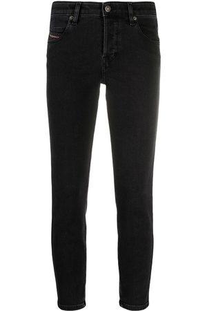 Diesel Women Slim - Slim-fit cropped jeans