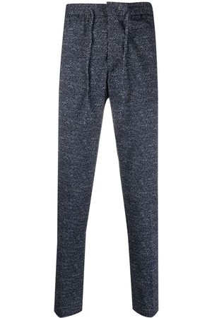 Manuel Ritz Slim-fit marl track pants