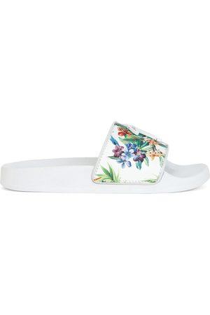 Giuseppe Zanotti Floral logo pool slides