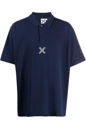 Kenzo Logo-embroidered polo shirt