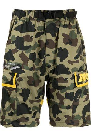 A Bathing Ape Camouflage-print shorts
