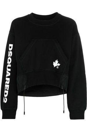 Dsquared2 D2 Leaf Active logo sweatshirt