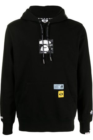 AAPE BY A BATHING APE Logo-printed hoodie