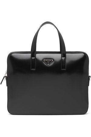 Prada Logo-plaque briefcase