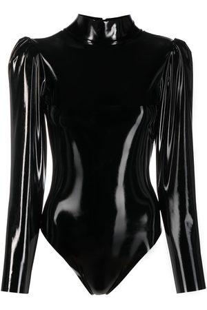 Alchemy Lia faux-leather bodysuit