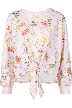 Cinq A Sept Sakura floral-print pullover