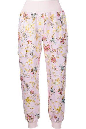 Cinq A Sept Sakura Giles floral-print trousers