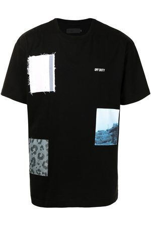 Off-Duty X MST fabric patch T-shirt