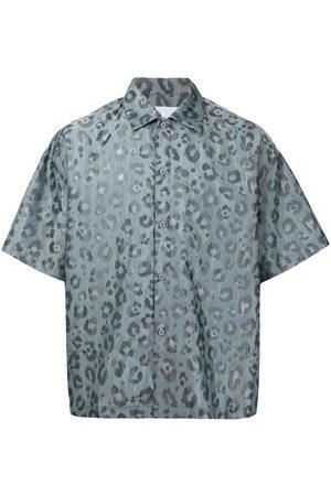 Off-Duty X Secallenyang leopard-pattern shirt