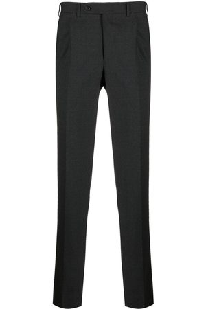 CANALI Slim-cut tailored trousers - Grey