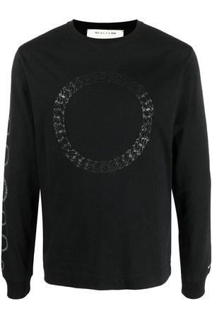1017 ALYX 9SM Chain print long-sleeve T-shirt