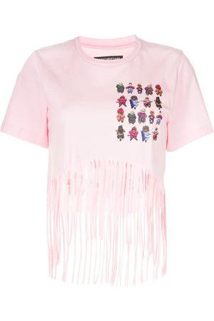 Tata Christiane Fringe-hem T-shirt