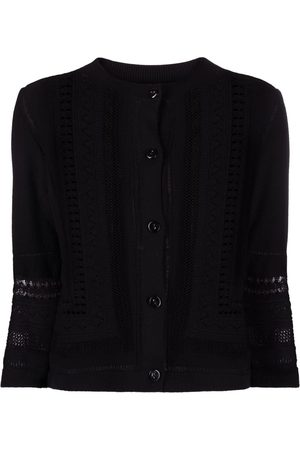 Barrie Lace-detail cardigan