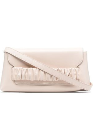 Elleme Chouchou leather shoulder bag - Neutrals