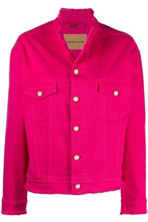 ALEXANDRE VAUTHIER Frayed-edge denim jacket