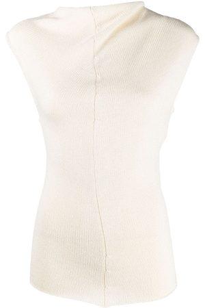 Jil Sander High neck knitted top