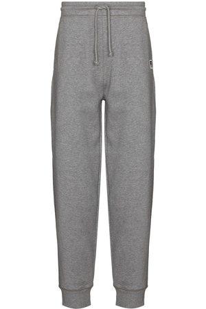 HUGO BOSS Logo-patch track pants - Grey