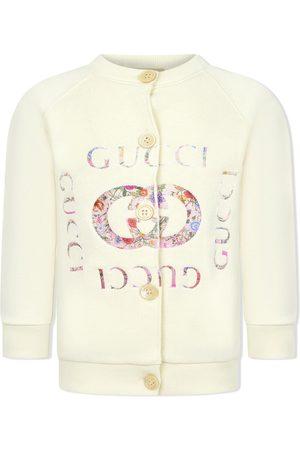 Gucci Floral logo cardigan