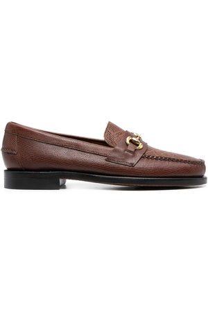 SEBAGO Crocodile-effect loafers